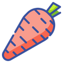 Carrot Salad Vegetable Icon