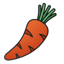 Carrot Vegetarian Healthy Icon