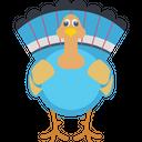 Cartoon Cock Icon