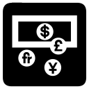 Cash Currency Exchange Icon