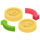 Cash Exchange Icon