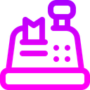 Cash Register Cash Box Shopping Store Icon