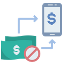 Online Mobile Banking Icon