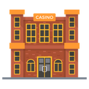 Casino Gaming House Clubhouse Icon