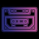 Cassette Music Audio Icon