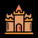 Sand Castle Sand Play Icon