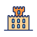 Holiday Sand Building Icon