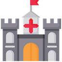 Castle Fort Fortess Icon