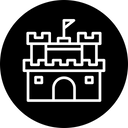 Castle Sand Fort Icon