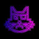 Cat Evil Black Icon