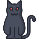 Cat Animal Scary Icon
