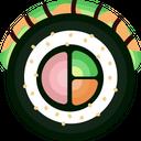 Caterpillar Roll Icon