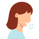 Caugh Problem Corona Virus Coronavirus Icon