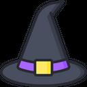 Cauldron Witch Hat Magic Icon