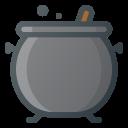 Cauldron Halloween Cooking Icon