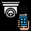 Cctv Camera Smartphone Icon