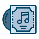 Cd Disc Cover Icon