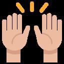 Celebration Gesture Hand Icon