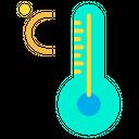 Temperature Thermometer Weather Icon