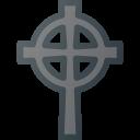 Celtic Cross Halloween Icon