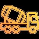 Cement Truck Concrete Truck Concrete Mixer Icon