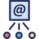 Email Marketing Send Icon