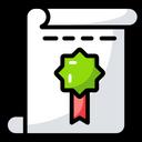 Degree Document Certificate Icon