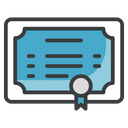 Certificate Certification Achievement Icon