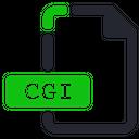 Cgi File Internet Icon