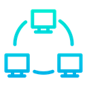 Monitor Screen Network Icon