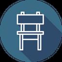 Chair Sittingbelongings Furniture Icon