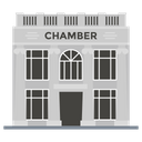 Chamber House Courtroom City Court Icon