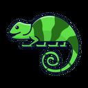 Chameleon Animal Lizard Icon