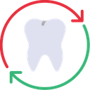 Change Teeth Replace Teeth Tooth Icon