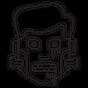 Character Halloween Frankenstein Icon