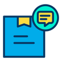 Delivery Parcel Delivery Message Parcel Message Icon