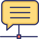Chat Bubble Networking Social Community Icon