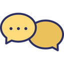 Chat Bubbles Comments Communication Icon