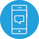 Chat Message Text Icon