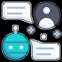 Chatbot Chat Ai Icon