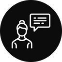 Chatting Communication Conversation Icon