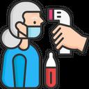 Check Body Temperature Icon