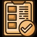 Check List List Tick Icon