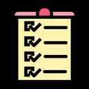 Paper Checklist List Icon