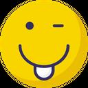 Cheeky Yawn Nodding Icon