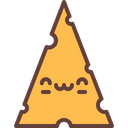 Cheese Milk Breakfast Icon