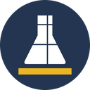 Chemical Flask Lab Flask Lab Research Icon