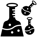 Education Chemical Laboratory Icon