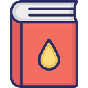 Chemistry Book Guide Book Manual Icon