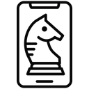 Chess App Digital Chess Play Online Icon